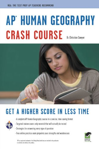 AP Human Geography Crash Course 9780738609324