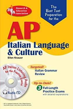AP Italian Language and Culture Exam [With CDROM] 9780738602141