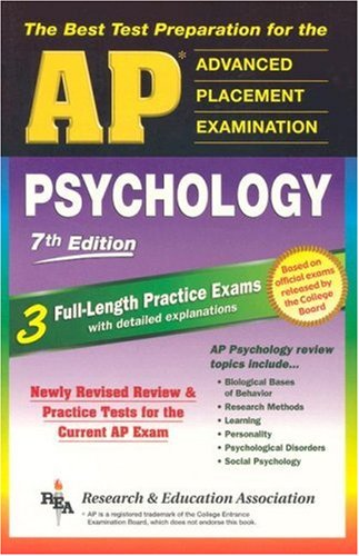 AP Psychology 7th Edition (Rea) - The Best Test Prep for the AP Exam 9780738600673