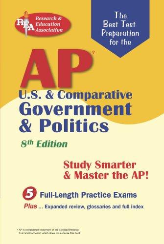 AP U.S. & Comparative Government & Politics Exams 9780738600468