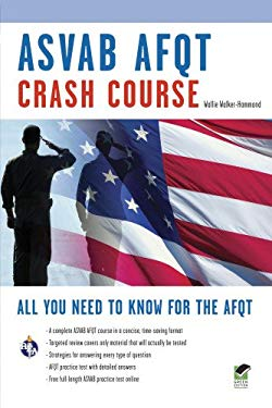 ASVAB AFQT Crash Course 9780738609041