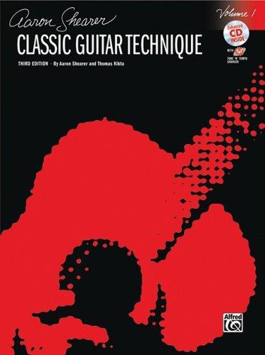 Aaron Shearer Classic Guitar Technique, Volume 1 [With CD (Audio)] 9780739057100