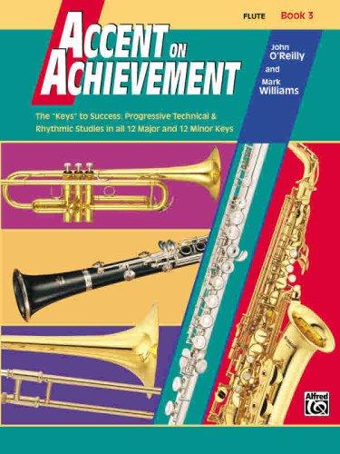 Accent on Achievement, Bk 3: Flute 9780739006221
