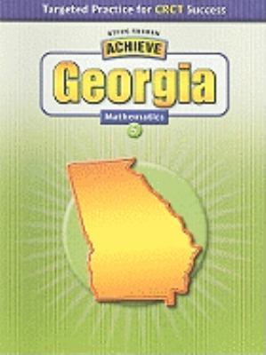 Achieve Georgia Mathematics, Grade 5 9780739894880