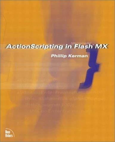 Actionscripting in Flash MX 9780735712959