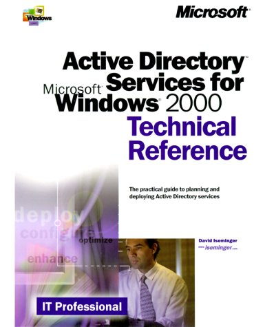 Active Directory Services for Microsoft Windows 2000 Technical Reference 9780735606241