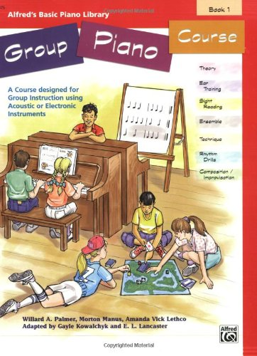 Alfred's Basic Group Piano Course, Bk 1 9780739002155