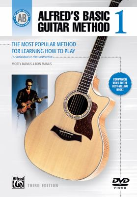 Alfred's Basic Guitar Method, Bk 1: The Most Popular Method for Learning How to Play, DVD 9780739049389