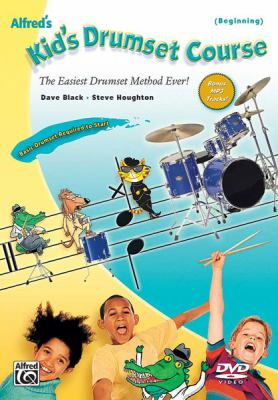 Alfred's Kid's Drumset Course: The Easiest Drumset Method Ever!, DVD 9780739056530