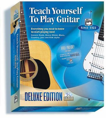 Alfred's Teach Yourself to Play Guitar: Everything You Need to Know to Start Playing Now!, CD-ROM 9780739030080