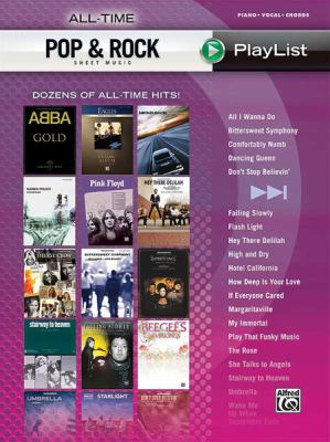All-Time Pop & Rock Hits Sheet Music: Dozens of All-Time Hits! 9780739062005