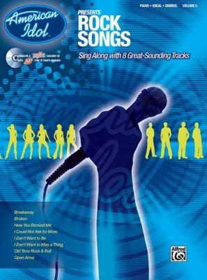 American Idol Presents, Vol 5: Rock Songs (Piano/Vocal/Chords), Book & CD 9780739045718