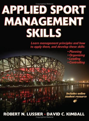 Applied Sports Management Skills [With Access Code] 9780736074353