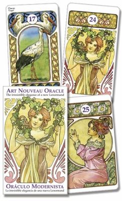 Art Nouveau Oracle/Oraculo Modernista: The Irresistible Elegance of a New Lenormand/La Irresistible Elegancia de Una Neuva Lenormand 9780738712956