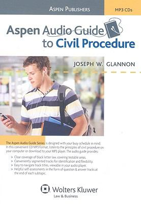 Aspen Audio Guide to Civil Procedure