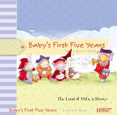 Baby's First Five Years: A Record Book 9780736915434