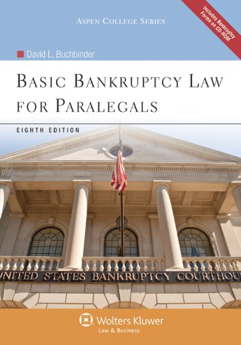 Basic Bankruptcy Law for Paralegals, Eighth Edition with CD 9780735507869