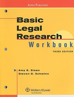 Basic Legal Research Workbook 9780735569553