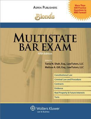 Blond's Multistate Bar Exam, 5th Ed. 9780735577954