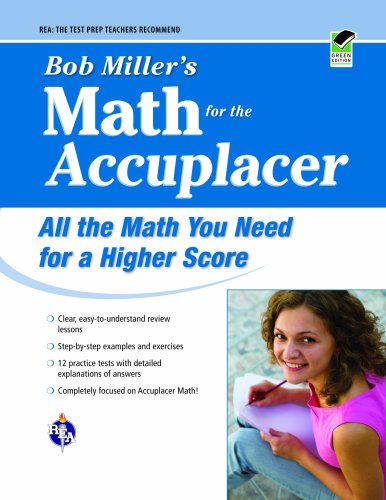 Bob Miller's Math for the Accuplacer 9780738606736