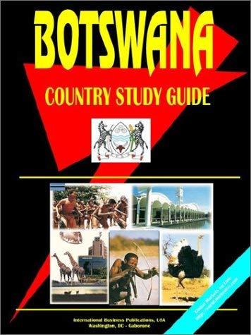 Botswana Country Study Guide 9780739742778