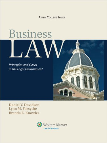 Business Law: Principles and Cases in the Legal Environment [With Loislaw Access] 9780735593787