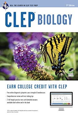 CLEP Biology, 3rd Edition W/Online Practice Tests 9780738611020