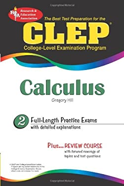 CLEP Calculus: The Best Test Preparation 9780738603049