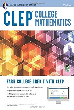 CLEP College Math with Online Practice Tests, 2nd Edition 9780738610467