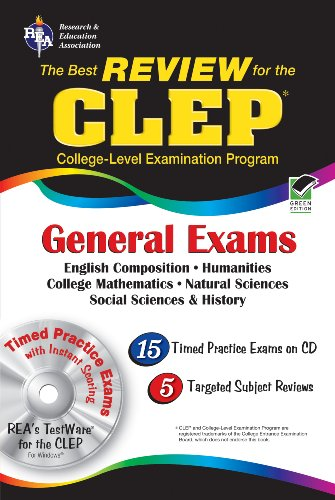 CLEP Core Exams with CD (Rea) [With CDROM] 9780738604879