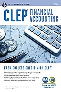CLEP Financial Accounting W/ Online Practice Exams 9780738610290
