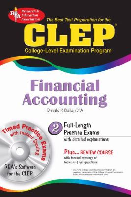 CLEP Financial Accounting W/ CD-ROM [With CDROM]