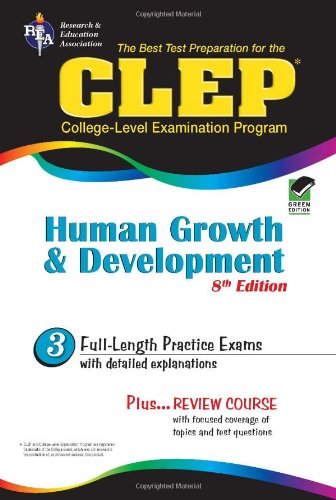 CLEP Human Growth and Development: The Best Test Preparation 9780738603957