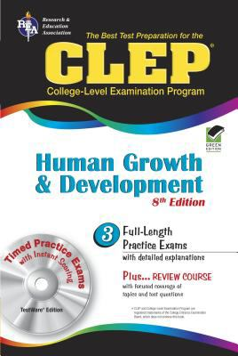 CLEP Human Growth and Development [With CDROM] 9780738603964