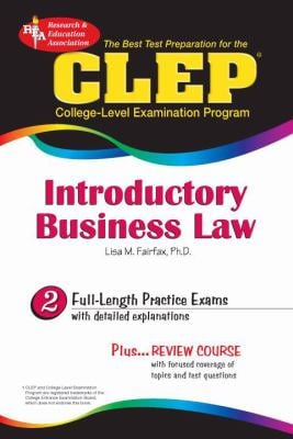 The CLEP Introductory Business Law (Rea) 9780738603155