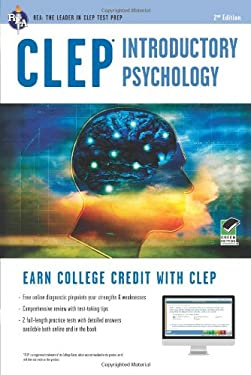 CLEP Introductory Psychology W/ Online Practice Exams 9780738610177