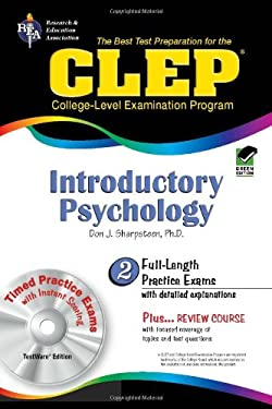 CLEP Introductory Psychology [With CDROM] 9780738600871