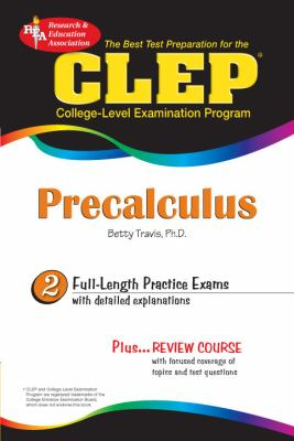 CLEP Precalculus 9780738601748