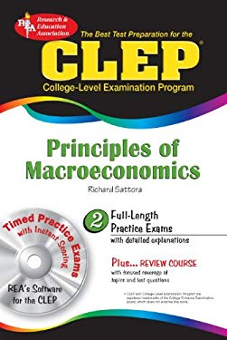 CLEP Principles of Macroeconomics [With CD-ROM] 9780738603070
