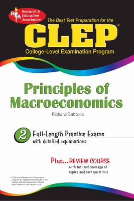 CLEP Principles of Macroeconomics [With CDROM] 9780738602165