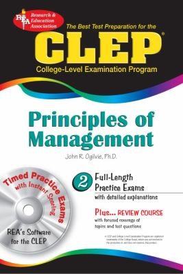 CLEP Principles of Management: The Best Test Preparation for the CLEP [With CDROM] 9780738601250