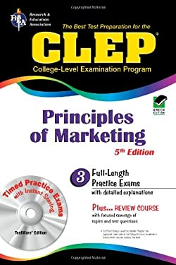 CLEP Principles of Marketing W/ CD-ROM (Rea) -The Best Test Prep for the CLEP 9780738601175