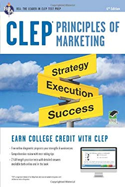 CLEP Principles of Marketing W/Online Practice Tests, 6th Edition