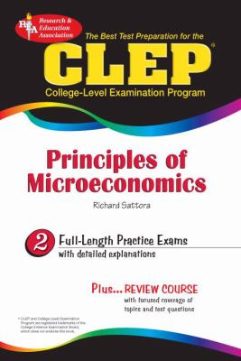 CLEP Principles of Microeconomics: The Best Test Preparation 9780738602158