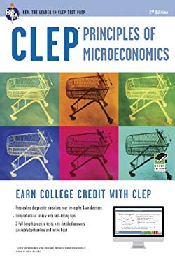 CLEP Principles of Microeconomics W/ Online Practice Exams 9780738610283