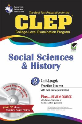 CLEP Social Sciences and History [With CDROM] 9780738606934