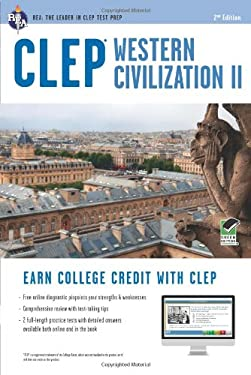 CLEP Western Civilization II W/Online Practice Tests, 2nd Edition 9780738610498