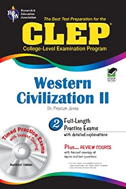 CLEP Western Civilization II [With CDROM] 9780738601335