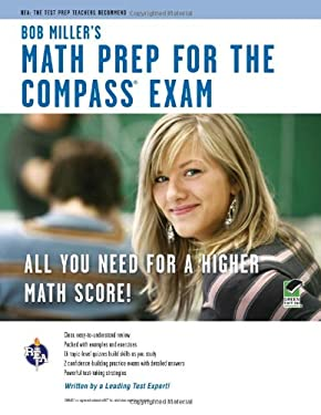 Bob Miller's Math Prep for the Compass Exam 9780738610023