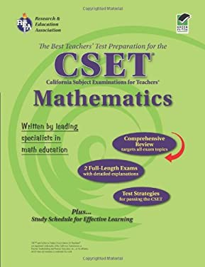 CSET Mathematics: The Best Teachers' Test Preparation for the California Subject Examinations for Teachers 9780738601809